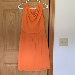 Orange Banana Republic Dress